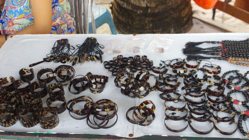 Náramky ze želvoviny bychom si neměli kupovat. Ochráníme tím životy želv