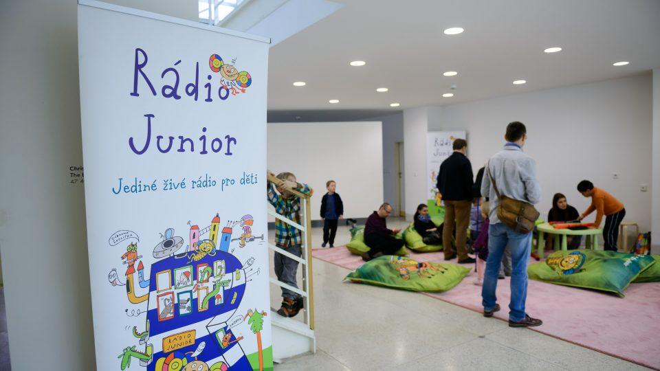 Rádio Junior slaví narozeniny umění