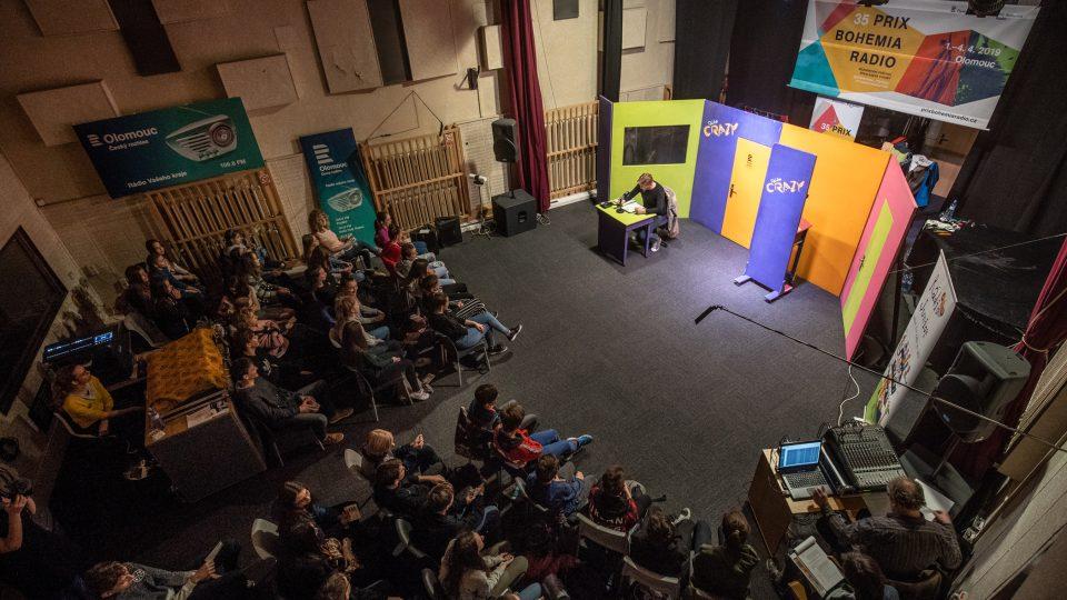 Představení Jak (ne)dělat rádio na Prix Bohemia Radio 2019 v Olomouci