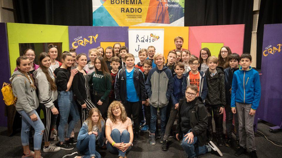 Představení Jak (ne)dělat rádio na festivalu Prix Bohemia radio 2019 v Olomouci
