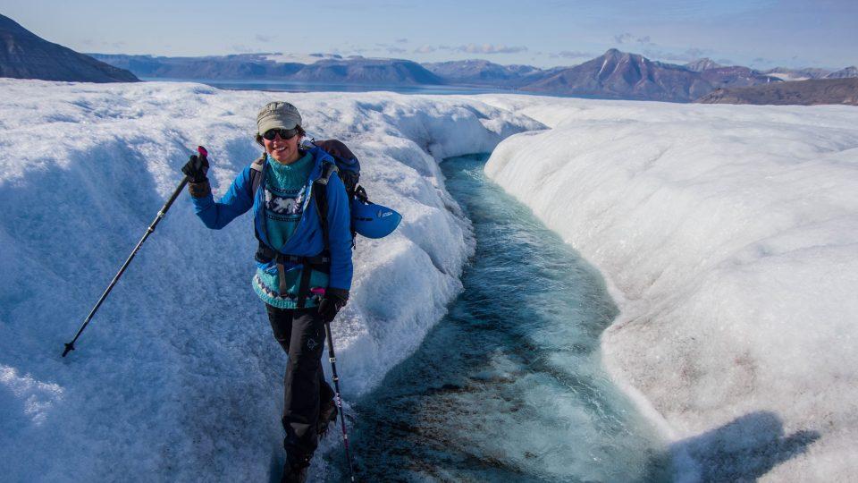 Mikrobioložka Marie Šabacká vyráží do oblastí, kde je velká zima