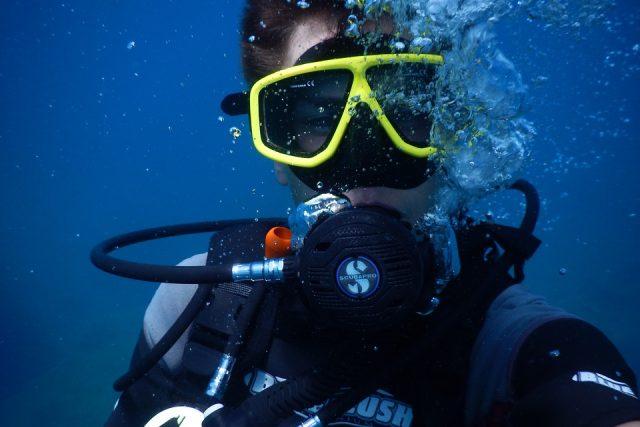 Taky se rádi potápíte? | foto: Creative Commons CC0 1.0 Universal,   pixabay.com