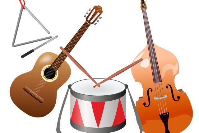 Víš,  co má společného buben a triangl?   foto: Licence Public domain CC0,  Fotobanka Pixabay