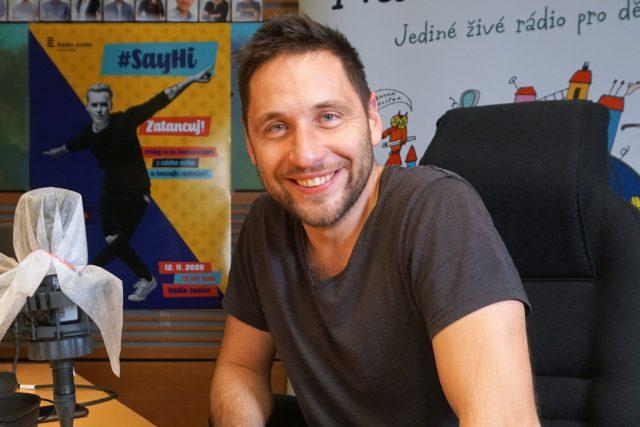 Oblíbený herec Martin Písařík | foto: Šárka Mattová,  Český rozhlas
