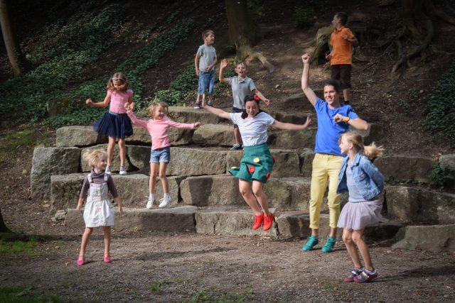 Hejblíkovic vás rozhýbají! | foto:  Soukromý archiv Hejblíkovic