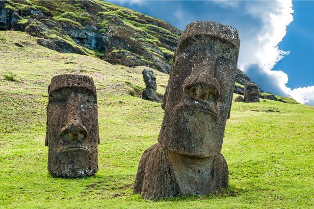 Tajemné sochy na Velikonočním ostrově | foto: Shutterstock