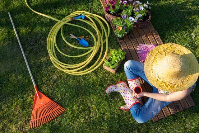 Těšíte se na zahrádku? | foto: Shutterstock
