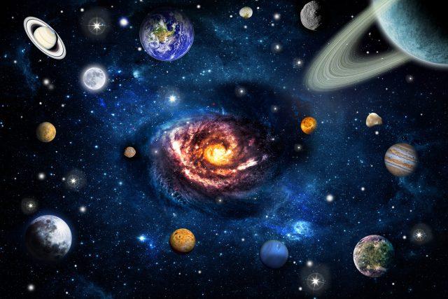 Jak se vyznáte ve vesmíru?