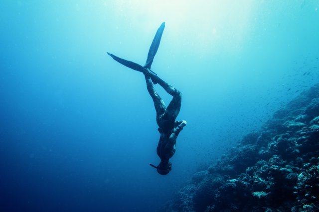 Freediving vyžaduje klid a pokoru. Je to ale velká zábava   foto: Shutterstock