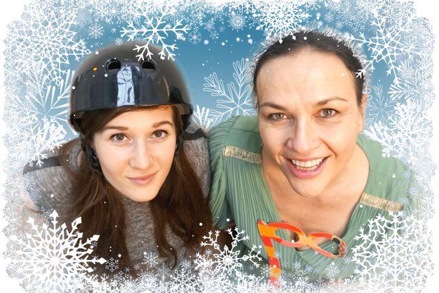 Eva a Jana se na vás těší v soutěži Prapodivné Vánoce na Rádiu Junior