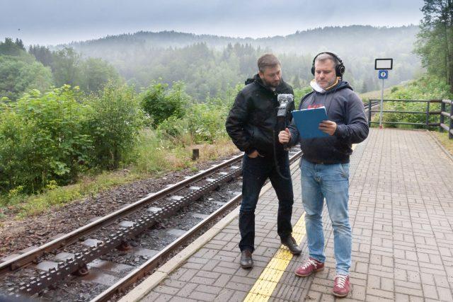 Režisér Michal Bureš při práci | foto: Vojtěch Brzek