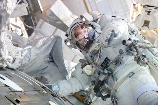 Kosmonaut na Mezinárodní vesmírné stanici  (ISS) | foto: Shutterstock