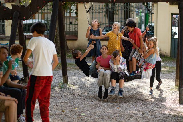 Holky a Kluci z Dismanova rozhlasového dětského souboru | foto: Jiří Šeda