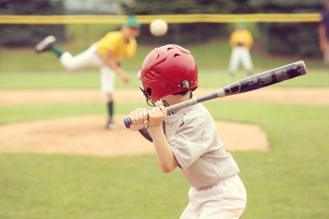 Baseball je oblíbený sport
