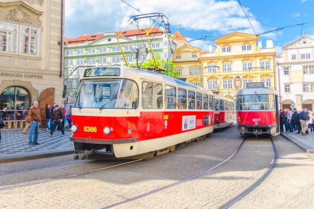 Ikonická tramvaj Tatra T3