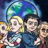 Naši hrdinové děkují všem zachráncům planety Marphos